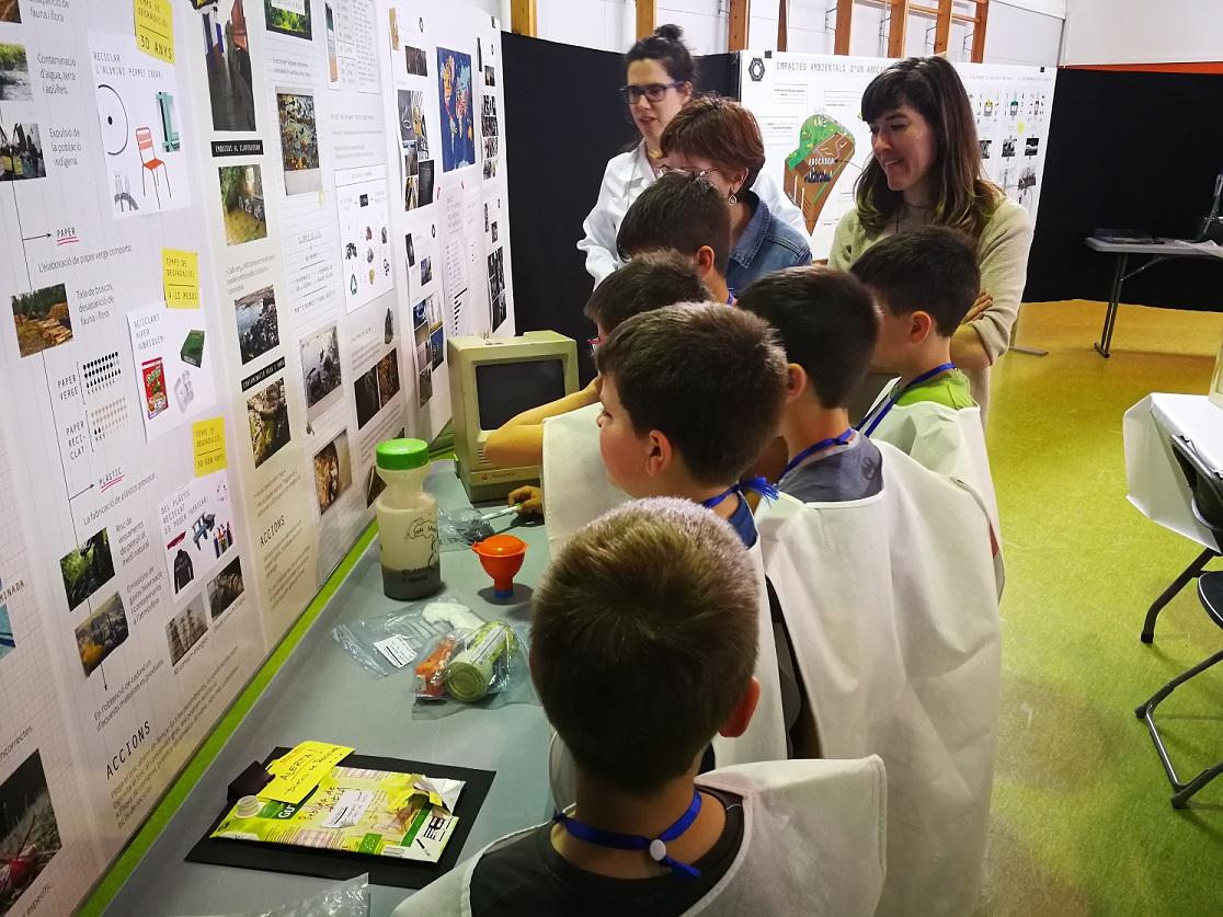 Un total de 17.654 alumnes han participat a 623 activitats educatives del Consorci de Residus aquest curs escolar