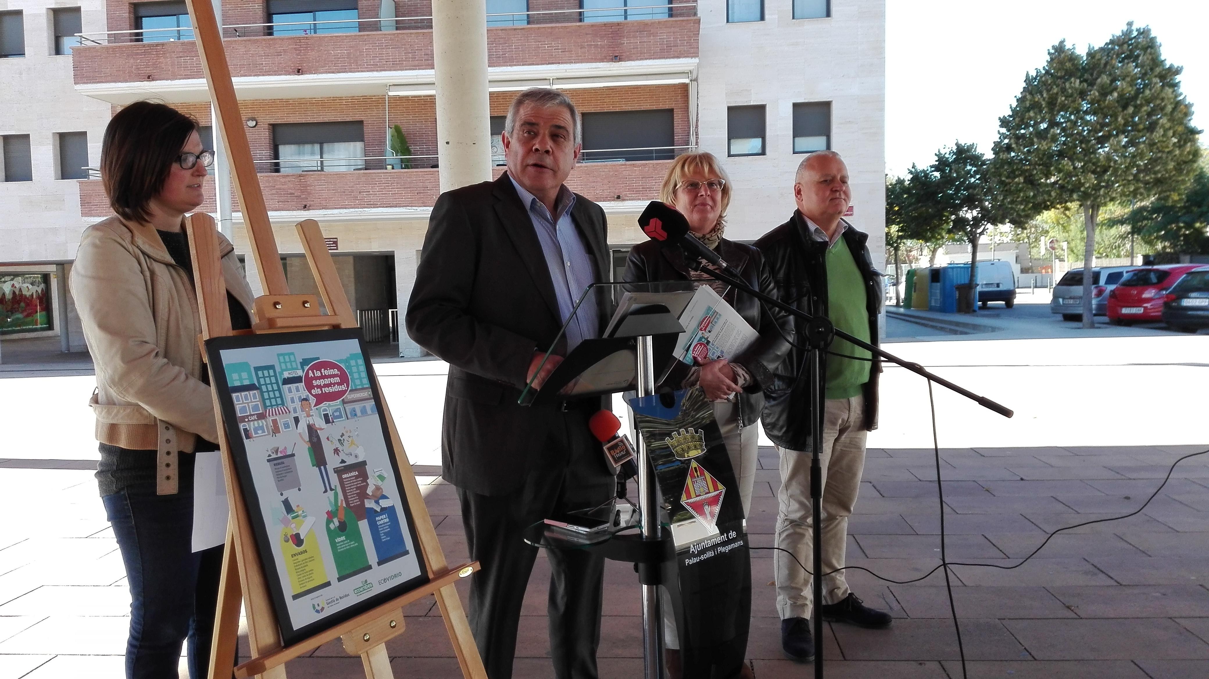 El Consorci de Residus fomenta la separació i el reciclatge als establiments comercials i de restauració de 10 petits municipis