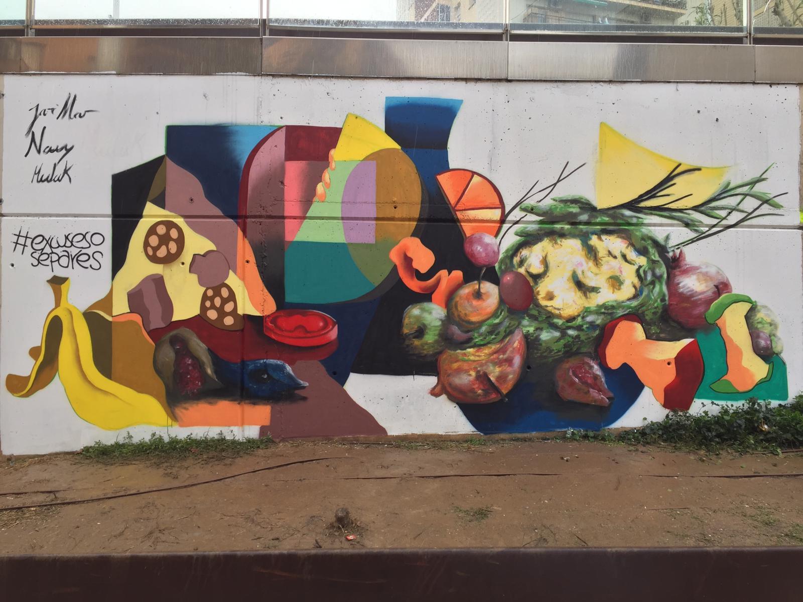 El Festival d'Art Urbà sobre el reciclatge de la matèria orgànica dóna el tret de sortida als municipis de Rubí i Vacarisses