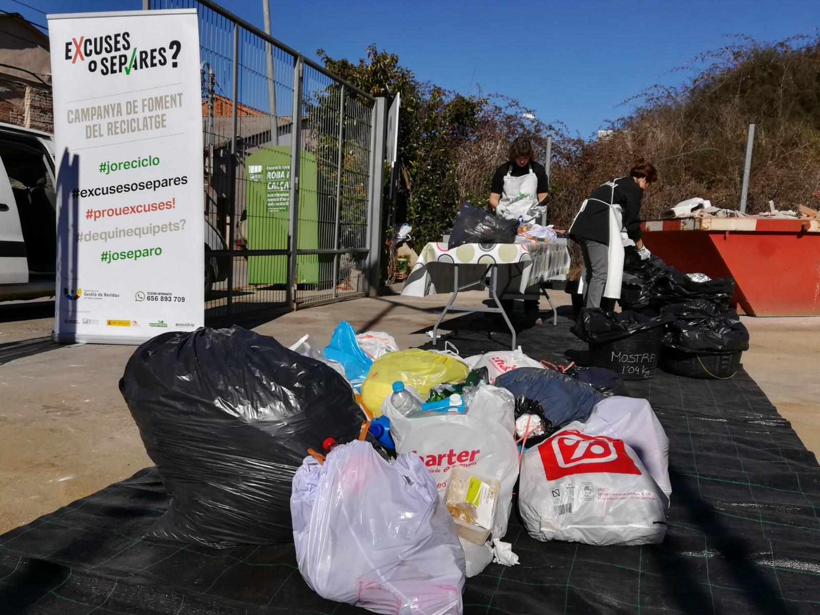 Més de 75% de les deixalles que es llencen al contenidor de la Resta es podrien reciclar